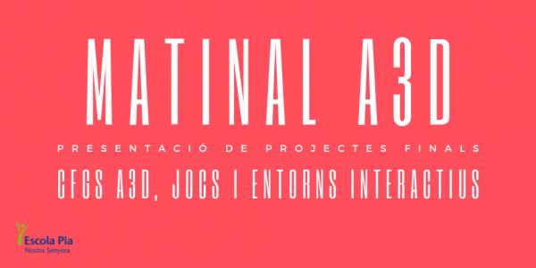 Matinal A3D CFGS Animacio 3D