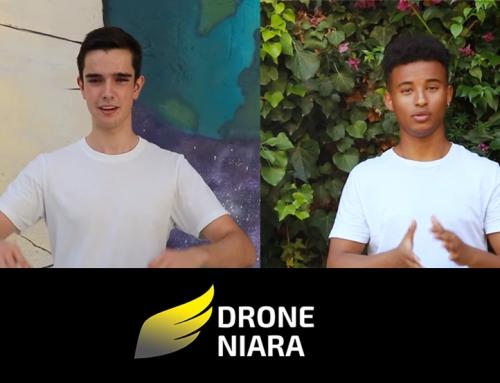 Un dron que salva vides