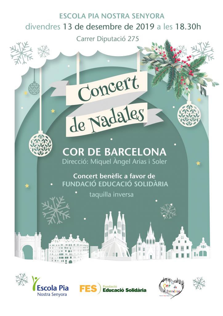 concert de nadales Cor de Barcelona