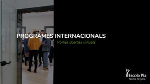Programes Internacionals