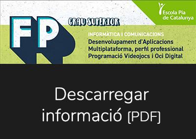 Folletó CFGS Desenvolupament Aplicacions Multiplataforma