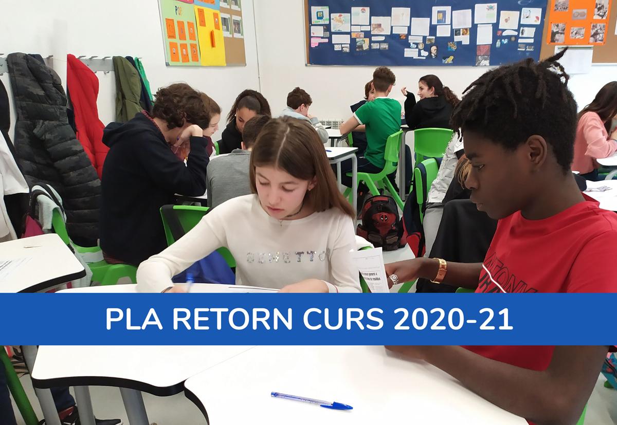 Pla Retorn Curs 20-21
