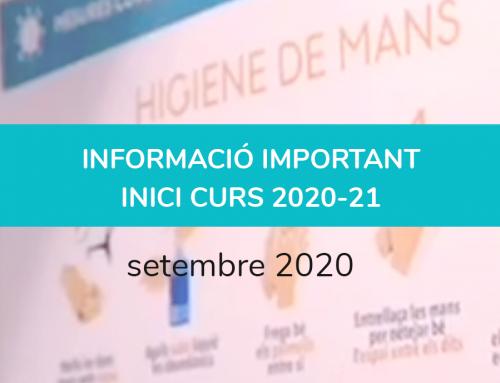 INFORMACIÓ INICI CURS 20-21 (setembre)
