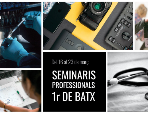 Setmana de seminaris professionals a batxillerat